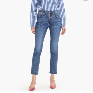 J. Crew   Vintage Straight Eco Jean w. Button Fly
